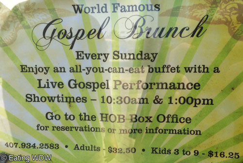 House-of-Blues-Gospel-Brunch-Info