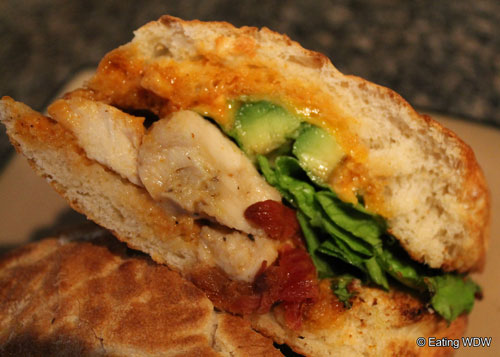 earl of sandwich chipotle chicken avocado calories