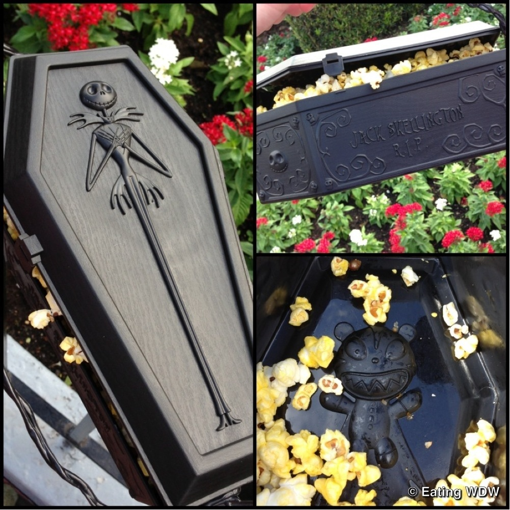 Jack Skellington Coffin Souvenir Popcorn Bucket