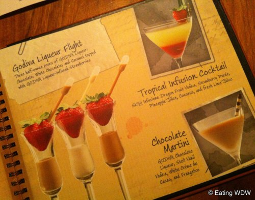 disney-lounge-9-28-12-godiva-liqueur-flight-tropical-infusion-cocktail-chocolate-martini