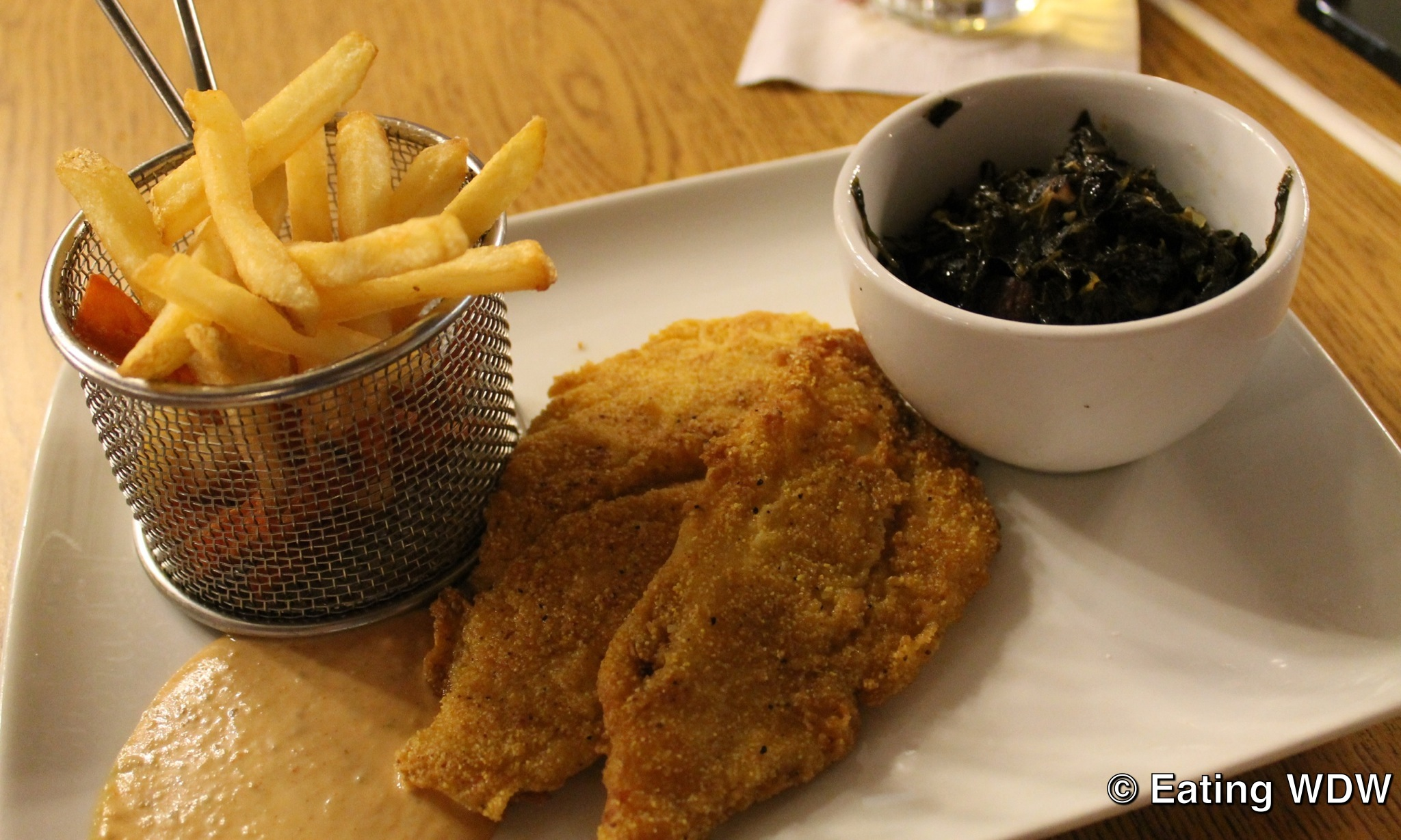 Fried Catfish With Fries