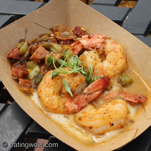 shrimp and grits with andouille sausage