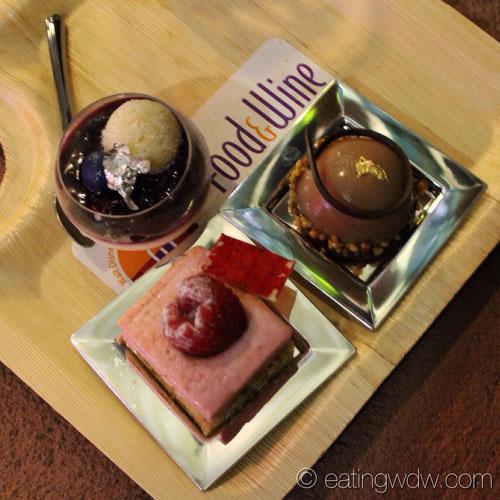 2013-swan-dolphin-food-wine-classic-Laurent-Branlard-dessert-trio