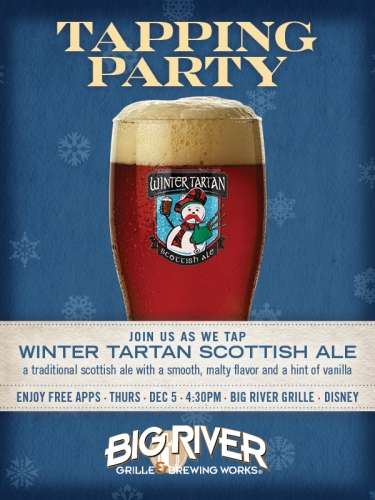 big-river-grille-tapping-party-winter-tartan-scottish-ale