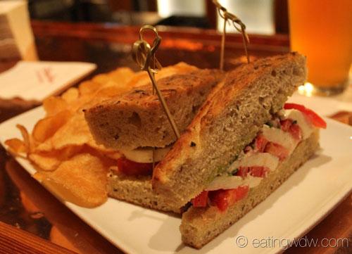 tomato and mozzarella sandwich which features tomato fresh mozzarella ...