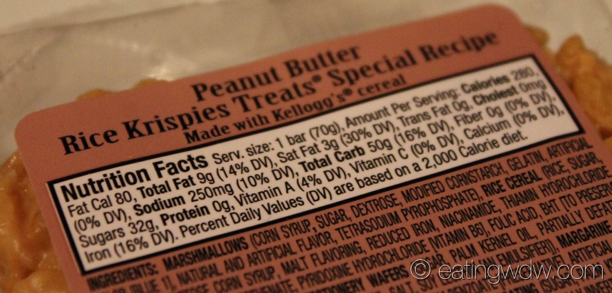 mickey peanut butter rice krispies treats special recipe | eating wdw