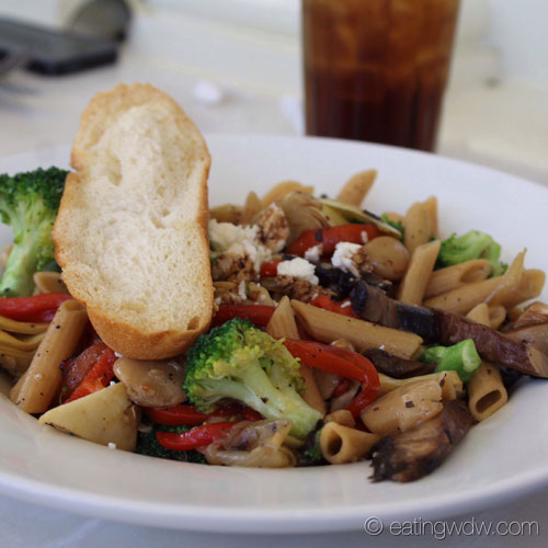 Our other friend ordered the Multigrain Pasta Primavera featuring ...
