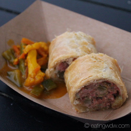 2014-flower-garden-buttercup-cottage-pork-and-apple-sausage-roll