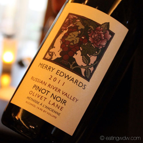 an-evening-at-markhams-merry-edwards-olivet-lane-pinot-noir-russian-river-valley-2011