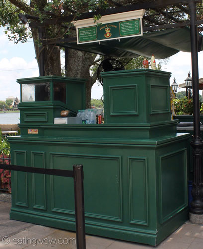 rose-and-crown-beer-stand