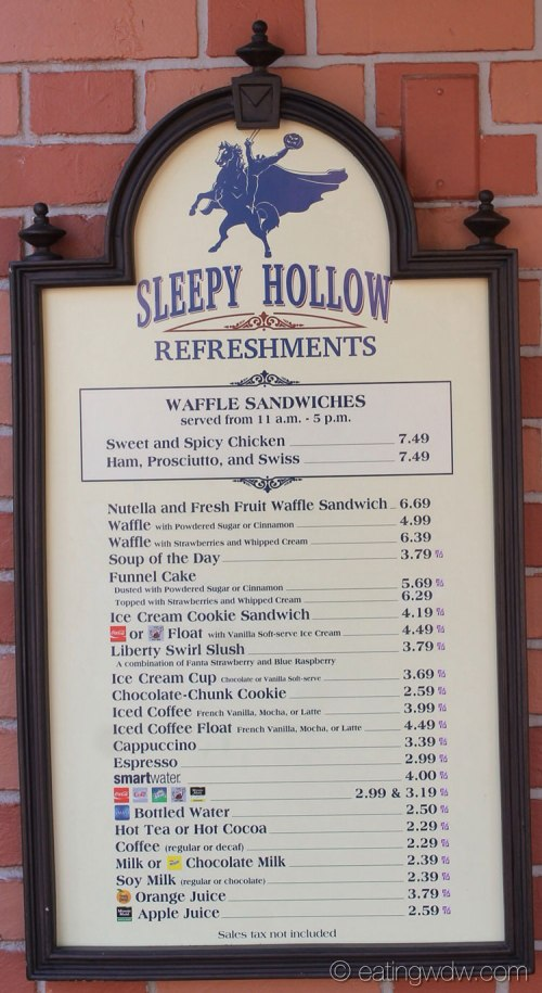 sleepy-hollow-inn-refreshments-menu-72614-1