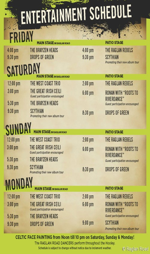 2014-great-irish-hooley-ragland-road-downtown-disney-entertainment-schedule