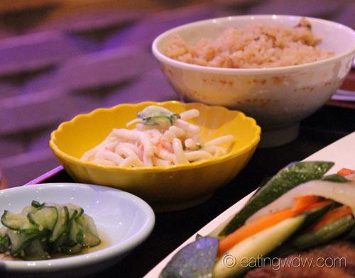 tokyo-dining-chicken-beef-yakiniku-lunch-special-sukiyaki-beef-rice-noodle-salad-sunomono-salad-miso-soup