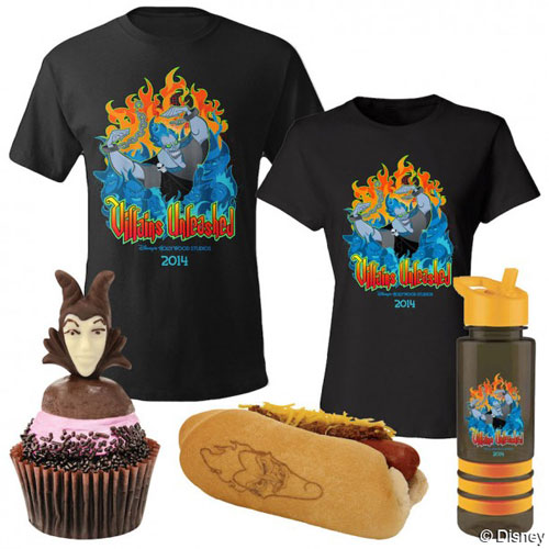 villains-unleashed-2014-merchandise-maleficent-cupcake-hades-hot-dog