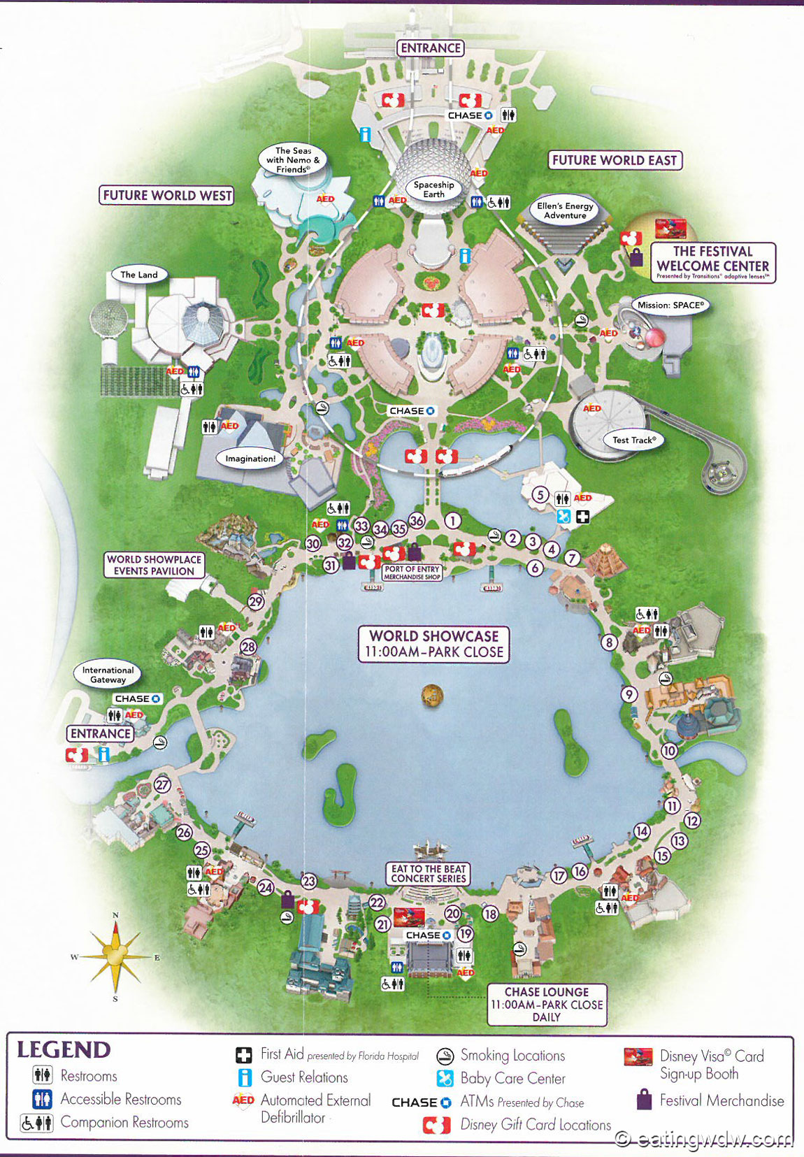 2014 epcot international food wine festival menu prices eating wdw 2014 epcot food wine festival map gumiabroncs Image collections