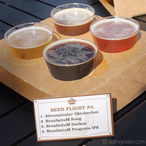 2014-food-wine-brewers-collection-beer-flight-2-altenmunster-oktoberfest-braufactum-roog-darkon-progusta-ipa