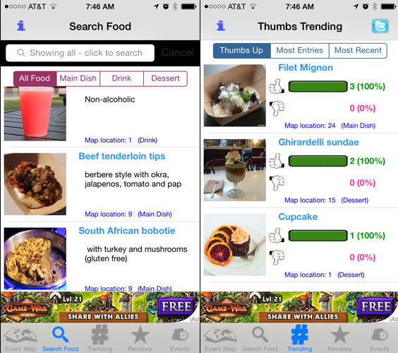 plan your food wine festival with dave s food and wine tracker