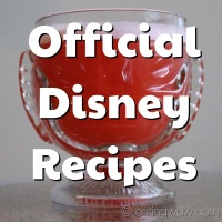 Official Disney Recipes
