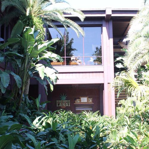 lanai vanilla color a look at the new pineapple lanai at polynesian village resort