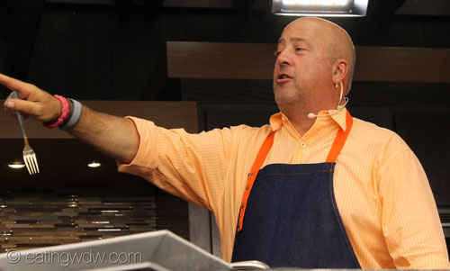 2014-food-wine-culinary-demo-andrew-zimmern-talking