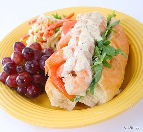 disneyland-french-market-restaurant-traditional-shrimp-po-boy
