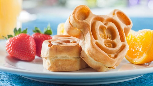 grand-floridian-dining-with-cinderella-at-citricos-breakfast-brunch-mickey-waffles