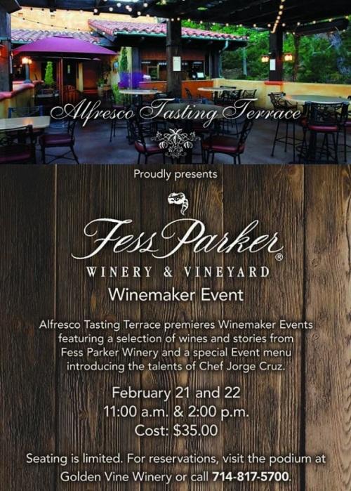 Fess Parker Wine Tasting Al Fresco Tasting Terrace