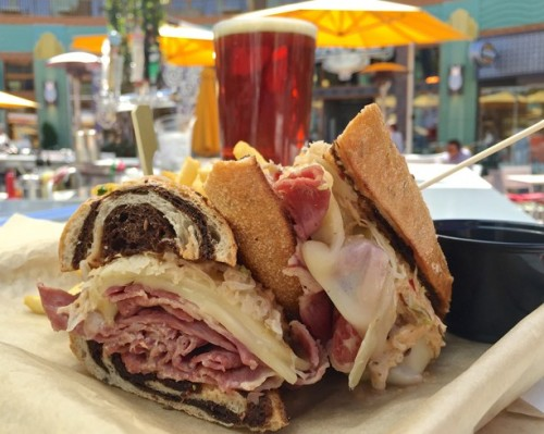 catal-restaurant-uva-bar-shaved-corned-beef-brisket-sandwich