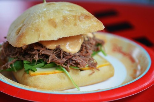 studio-catering-company-pulled-brisket-sandwich