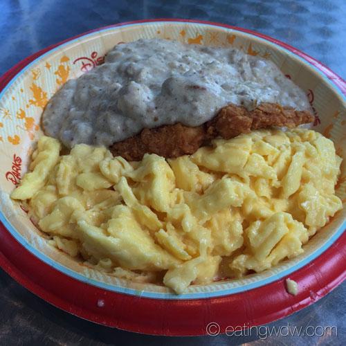 everything-pop-chicken-fried-chicken-with-sausage-gravy-scrambled-eggs-3